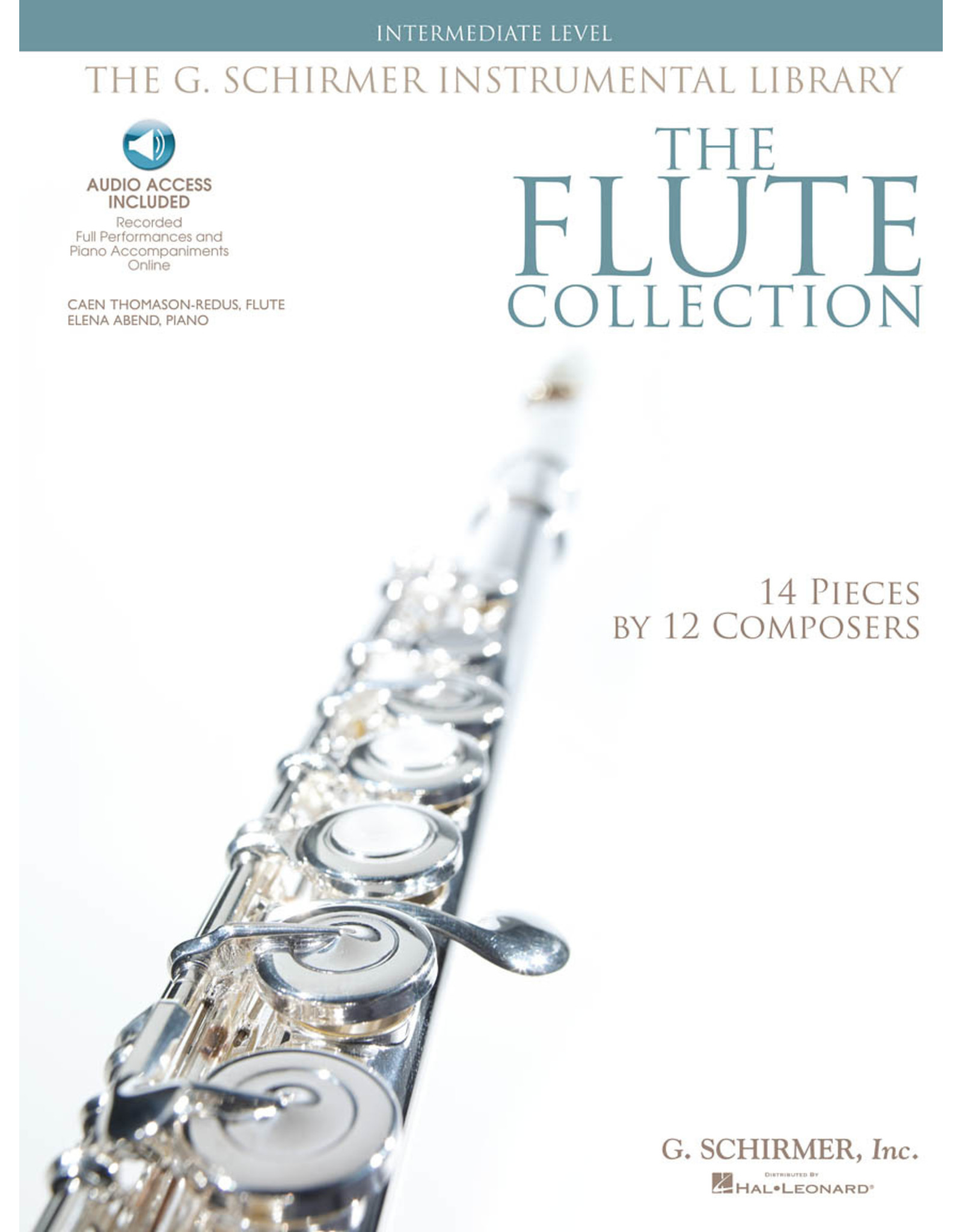 Hal Leonard The Flute Collection - Intermediate Level Schirmer Instrumental Library for Flute & Piano Woodwind Solo