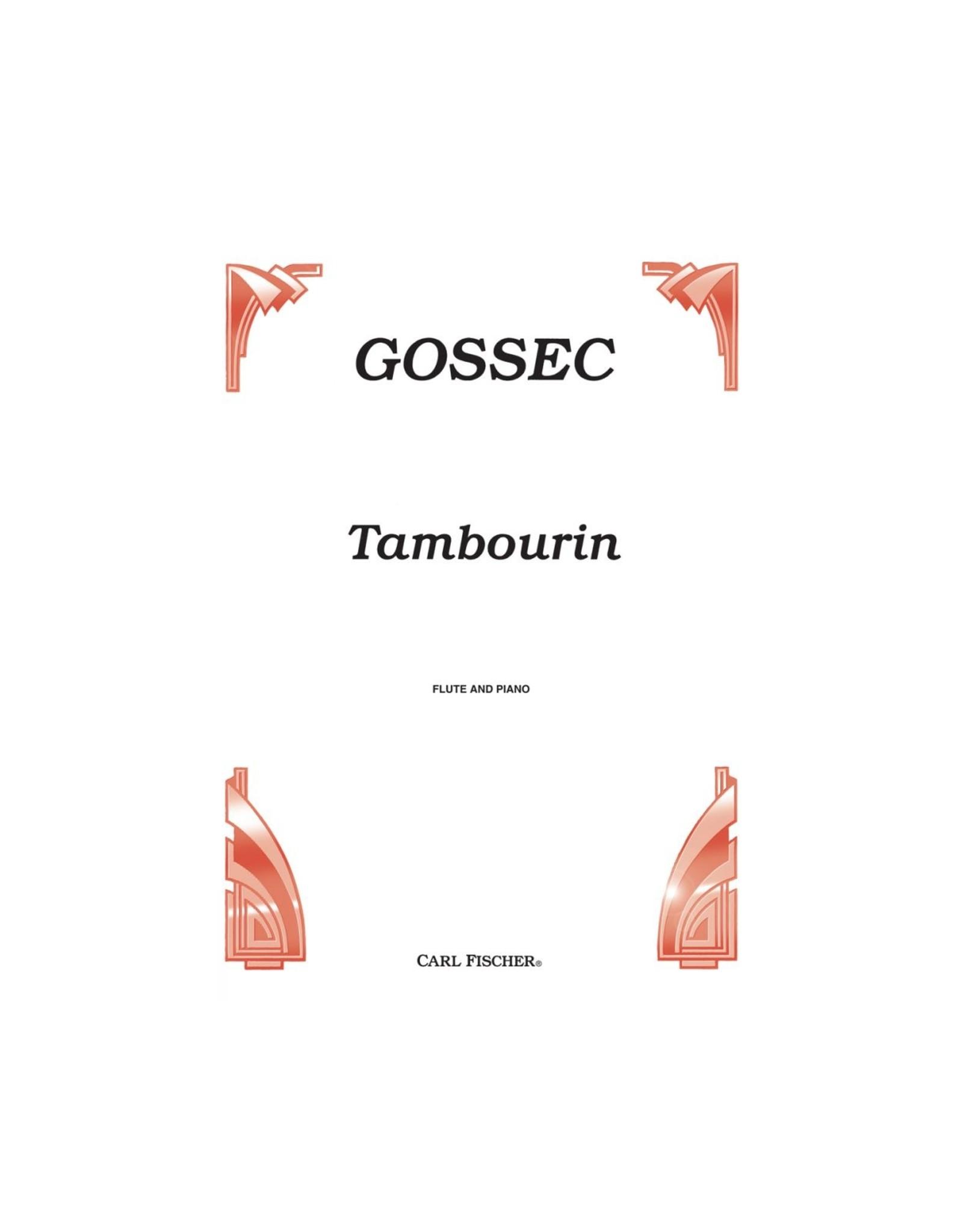 Carl Fischer LLC Gossec - Tambourin - Flute/Piano
