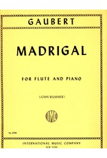 International Gaubert Madrigal - Flute/Piano