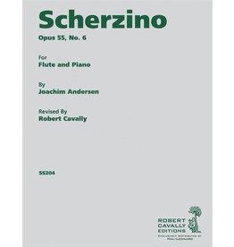 Hal Leonard Andersen - Scherzino (from Eight Performance Pieces, Op. 55) Flute and Piano Joachim Andersen/ed. Robert Cavally Robert Cavally Editions