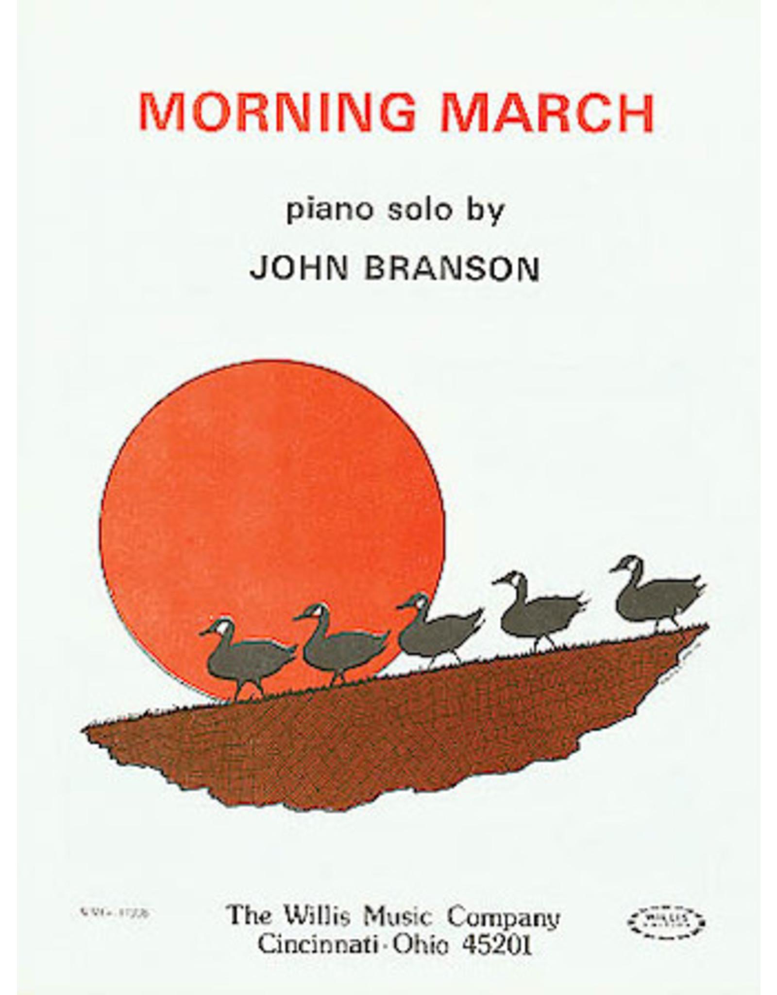 Hal Leonard Branson - Morning March Later Elementary Piano Solo