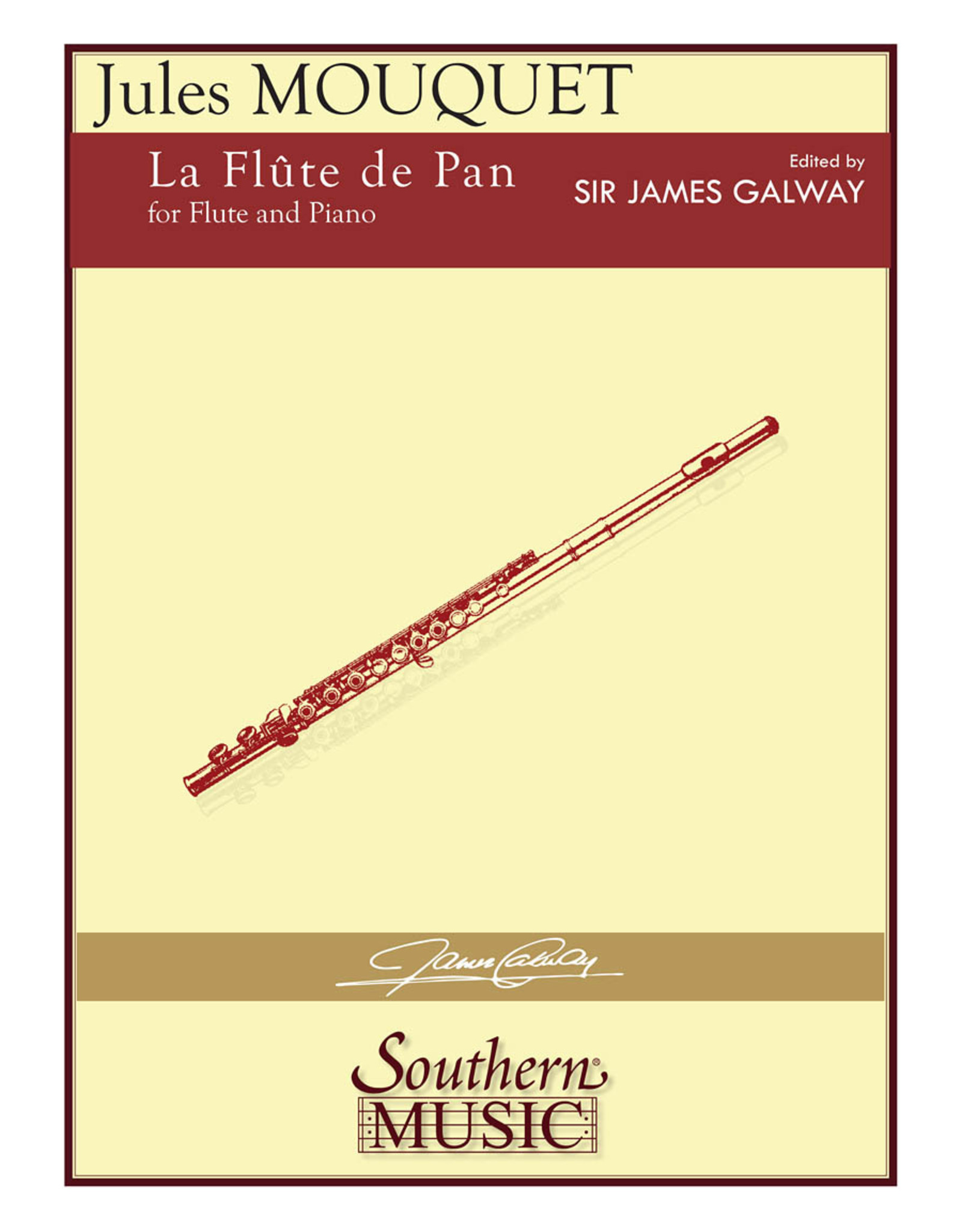 Southern Music Company Mouquet - La Flute de Pan for Flute and Piano Southern Music