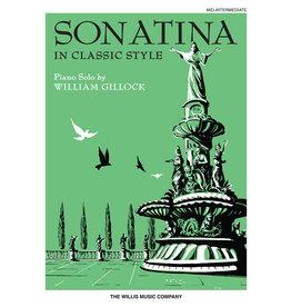 Hal Leonard Gillock - Sonatina in Classic Style Mid-Intermediate Level