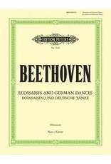 Edition Peters Beethoven - Ecossaisen and Deutsche Tanze