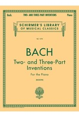 Hal Leonard Bach - Two and Three-Part Inventions Piano Solo (Busoni)
