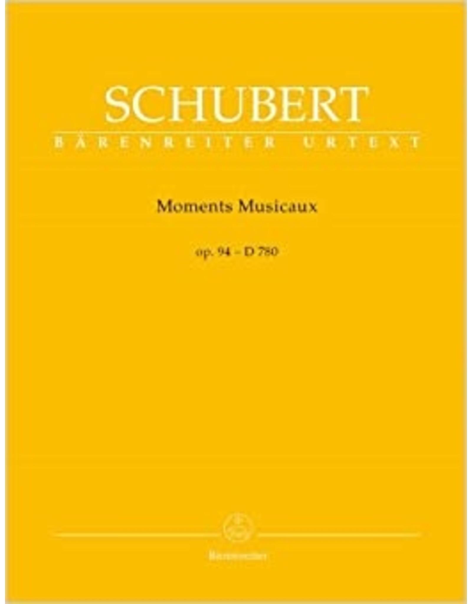 Barenreiter Schubert - Moments Musicaux Op.94