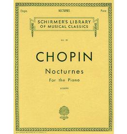 Hal Leonard Chopin - Nocturnes Piano Solo (Joseffy) Piano Collection