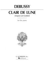 Hal Leonard Debussy - Claire de Lune Piano Solo Piano Solo