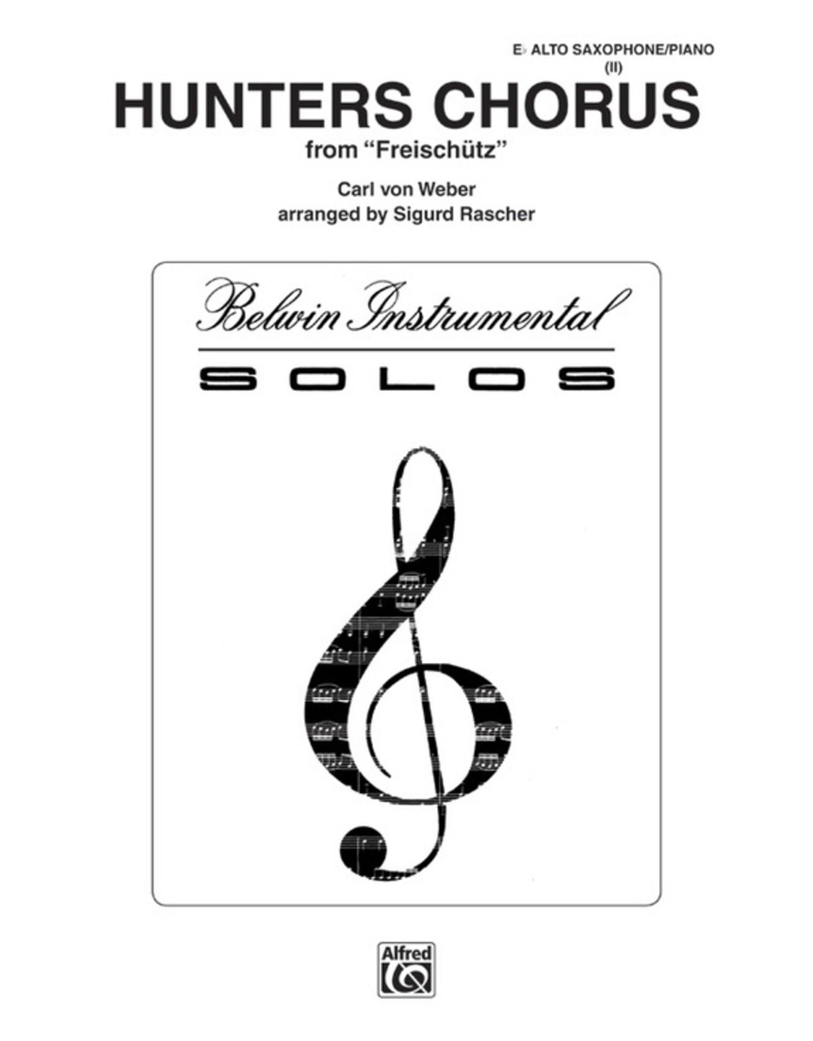 Alfred Weber - Hunters Chorus