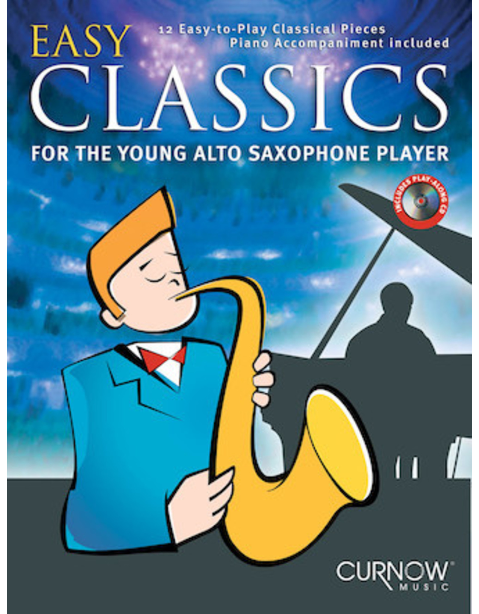 Hal Leonard Easy Classics for the Young Alto Sax Player Book/CD Packs Curnow Play-Along Book