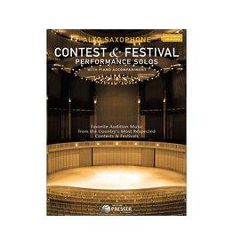THEODORE PRESSER CO Contest and Festival Performance Solos ALTO SAX -