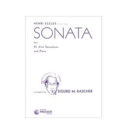 THEODORE PRESSER CO Eccles - Sonata For E Flat Alto Saxophone and Piano