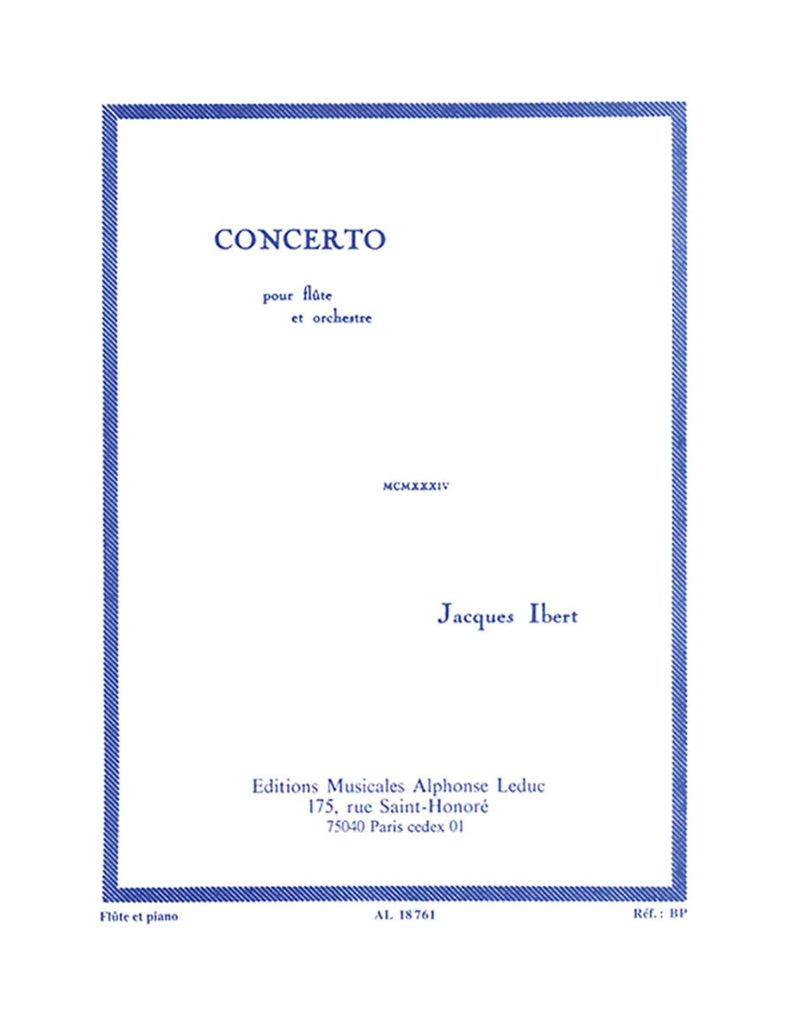 Alphonse Leduc Ibert - Concerto for Flute Leduc