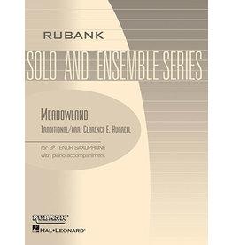 Hal Leonard Meadowland Tenor Saxophone Solo with Piano - Grade 1.5 Rubank Solo/Ensemble Sheet