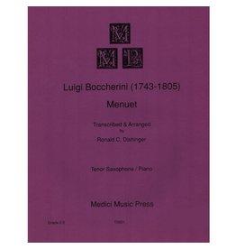 Medici Music Press Boccherini - Menuet - Tenor Sax