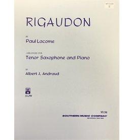 Hal Leonard Lacome - Rigaudon Tenor Sax Southern Music