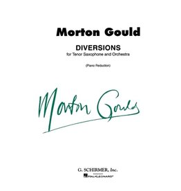 Hal Leonard Gould - Diversions for Tenor Saxophone and Piano Score and Parts Woodwind