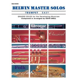 Alfred Belwin Master Solos, Volume 1 (Trumpet) Easy
