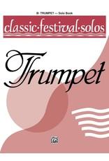 Alfred Classic Festival Solos (B-Flat Trumpet), Volume 1 Solo Book