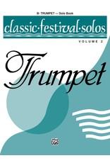 Alfred Classic Festival Solos (B-Flat Trumpet), Volume 2 Solo Book