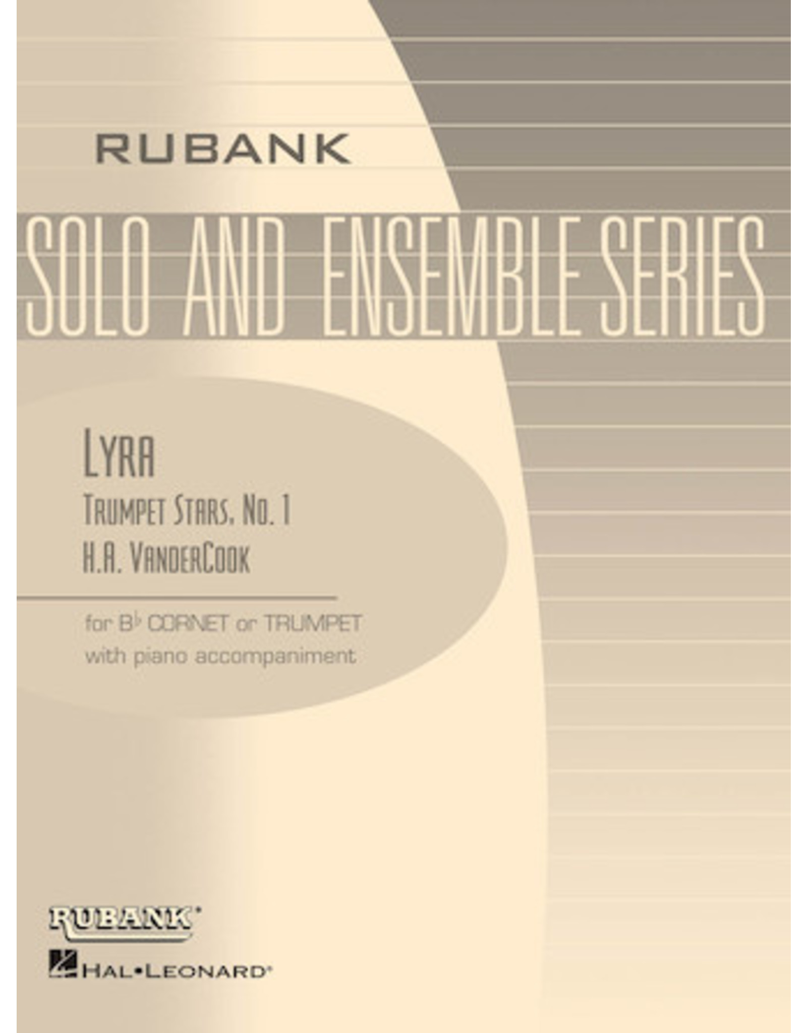 Hal Leonard VanderCook - Lyra Bb Trumpet/Cornet Solo with Piano