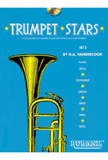 Hal Leonard Trumpet Stars - Set 2 Book/CD Pack by H.A. VanderCook Rubank Solo Collection