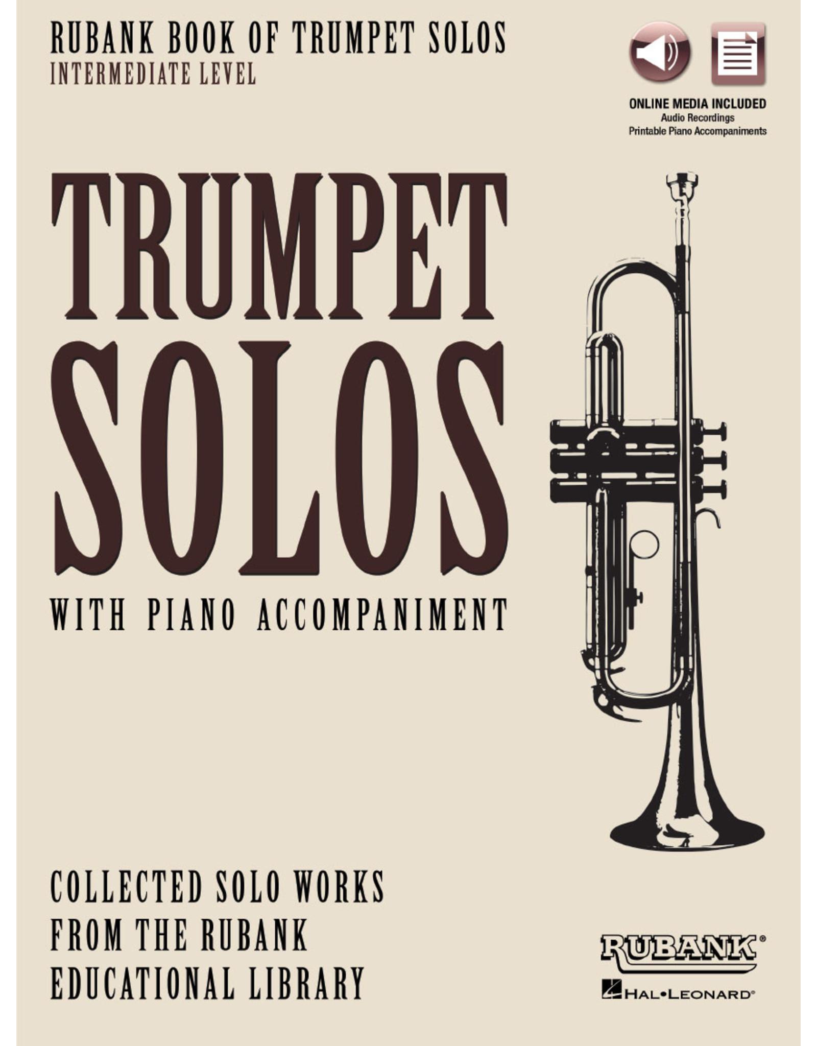 Hal Leonard Rubank Book of Trumpet Solos - Intermediate Level