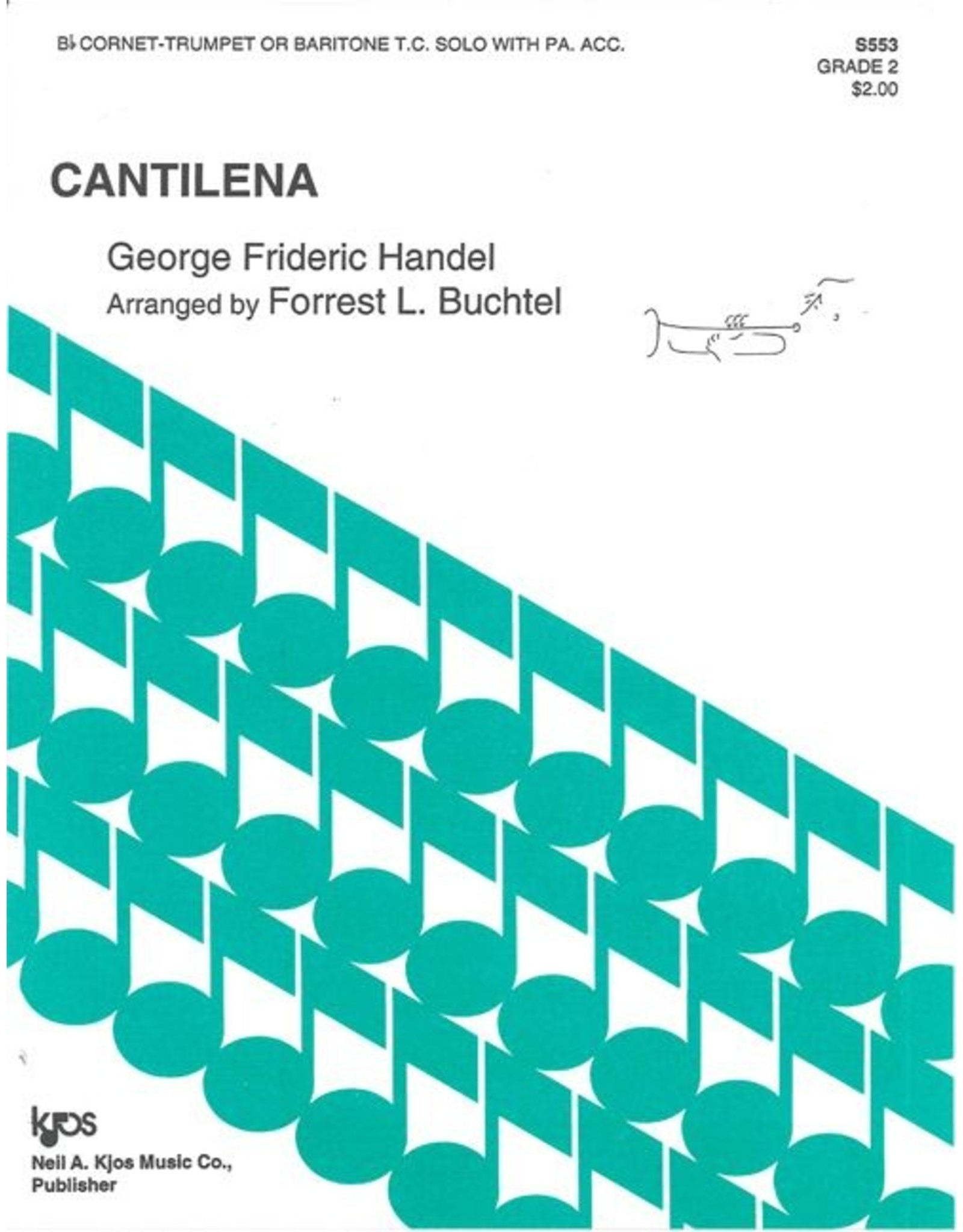 Generic Handel Cantilena - Trumpet