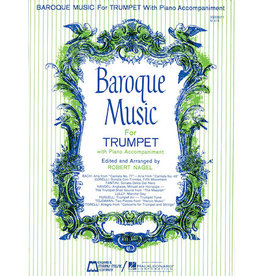 Hal Leonard Baroque Music for Trumpet Trumpet and Piano (Nagel) Brass Solo