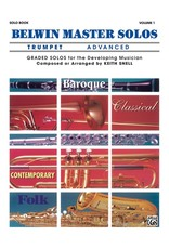 Alfred Belwin Master Solos, Volume 1 (Trumpet) Advanced