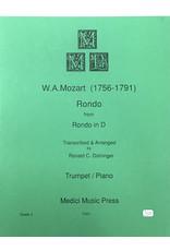 Medici Music Press Mozart Rondo in D - Trumpet