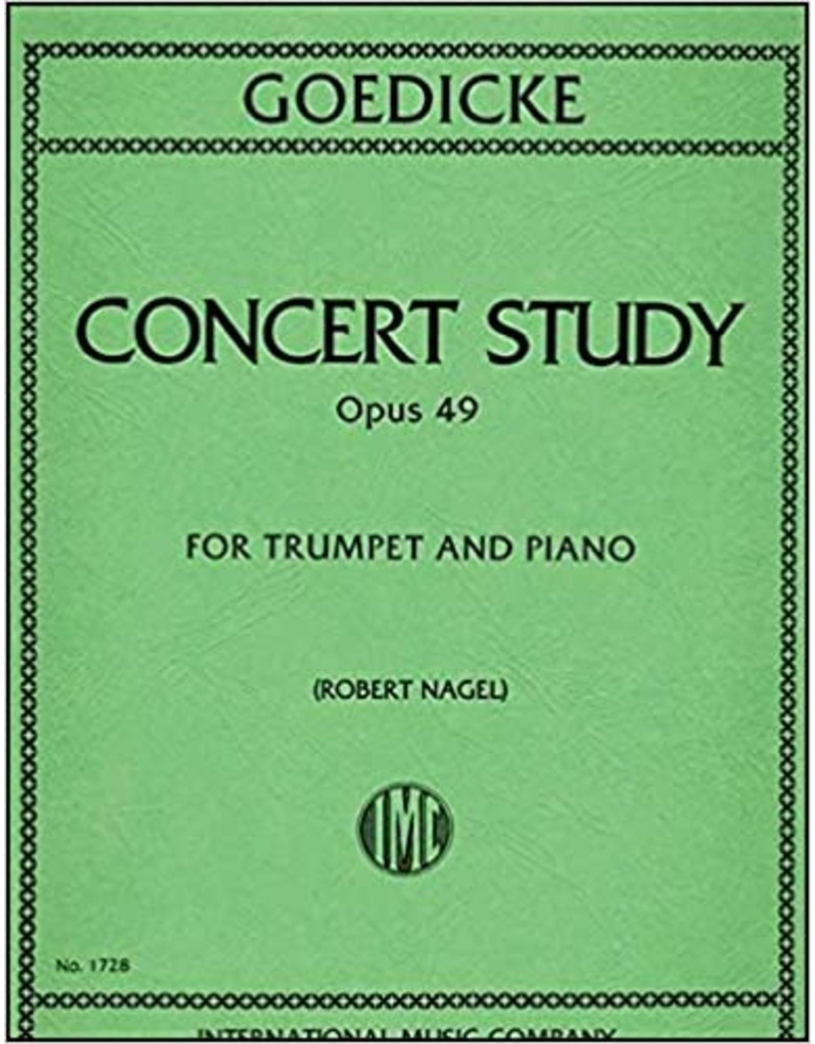 International Goedicke Concert Study Op. 49 - Trumpet