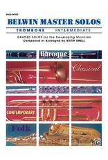 Belwin Mills Belwin Master Solos, Volume 1 (Trombone) Intermediate