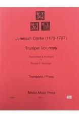 Medici Music Press Clarke Trumpet Voluntary - Trombone