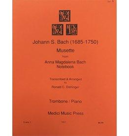 Medici Music Press Bach Mussette - Trombone