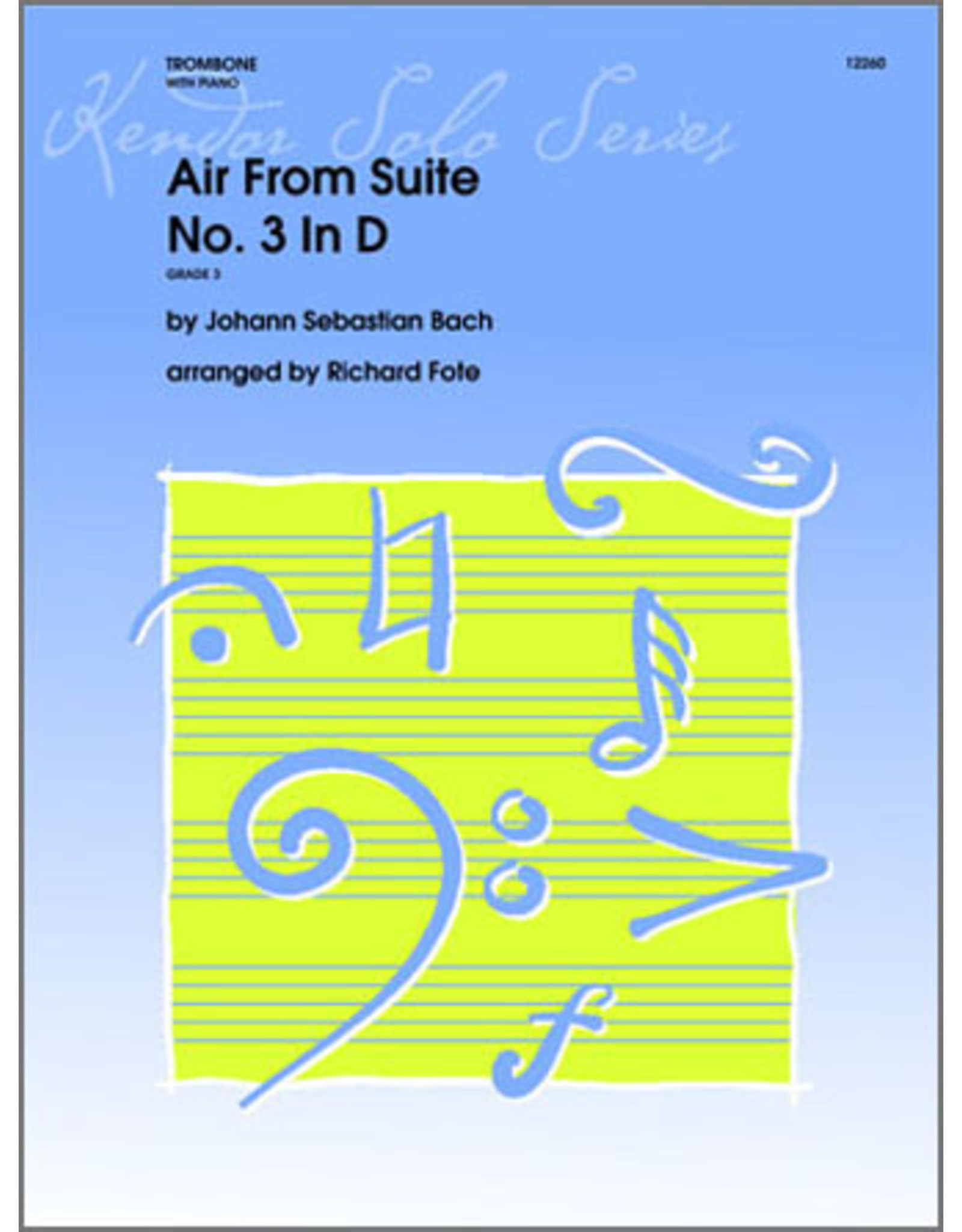 """Kendor Bach """"Air"""" from Suite No.3 in D"""