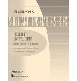 Hal Leonard Clerisse - Prelude et Divertissement Trombone/Baritone B.C. Solo with Piano