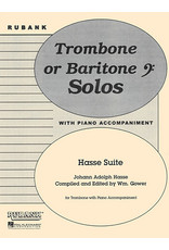 Hal Leonard Hasse Suite Trombone Solo with Piano