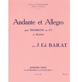 Alphonse Leduc Barat Andante et Allegro - Trombone