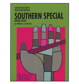 Hal Leonard Southern Special Drum Solos Snare Drum Unaccompanied William J. Schinstine Southern Music
