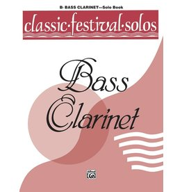 Alfred Classic Festival Solos (B-Flat Bass Clarinet), Volume 1 Solo Book