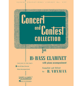 Hal Leonard Concert and Contest Collection for Bass Clarinet