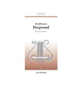 Carl Fischer LLC David Bennett - Deepwood Bass Clarinet w/ Piano Acc. Carl Fischer