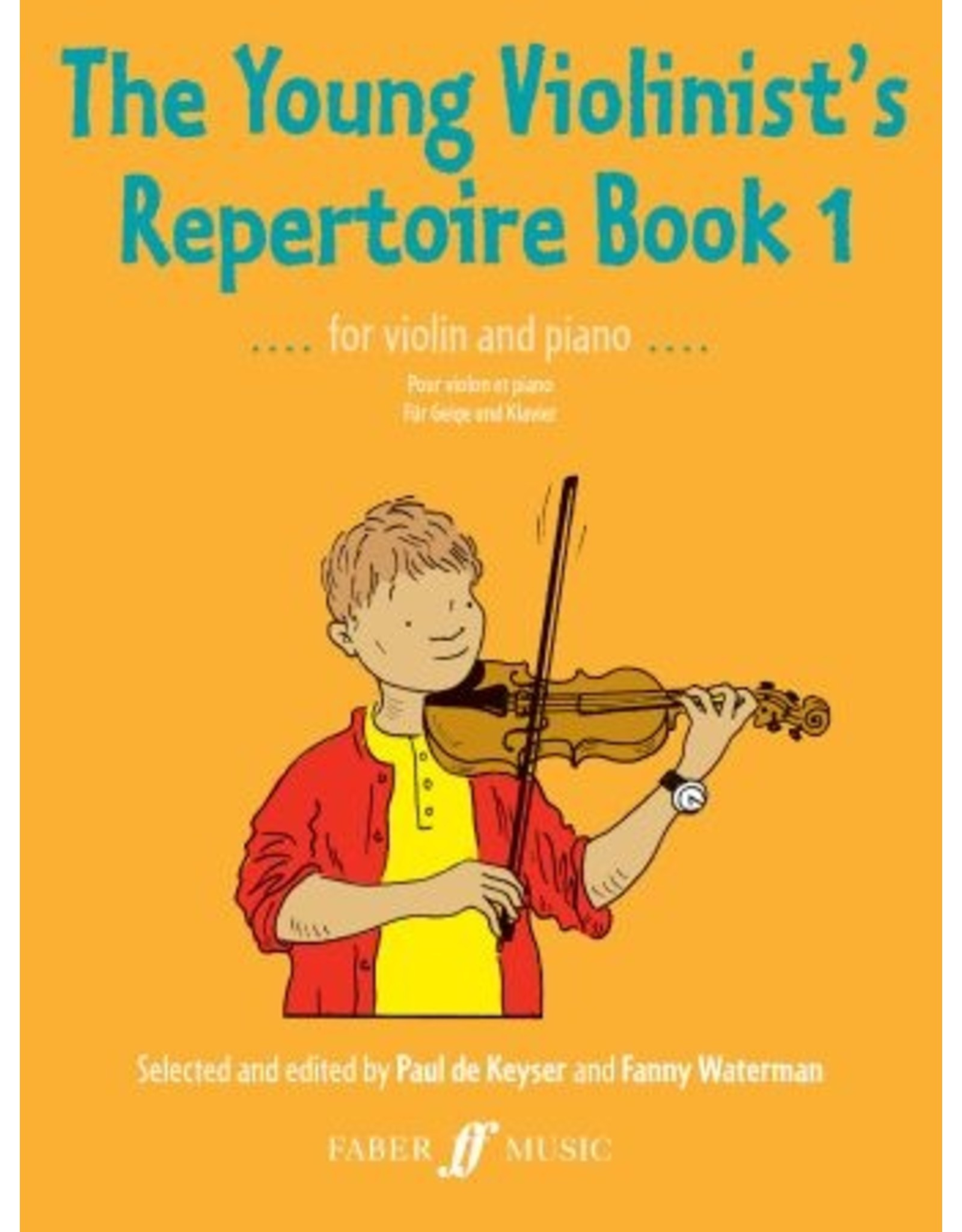 Alfred The Young Violinist's Repertoire, Book 1