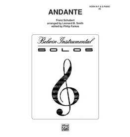 Alfred Schubert - Andante (F & E-Flat) French Horn Solo9781617807015