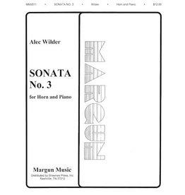 Margun Music Inc. Wilder Sonata No.3 - Horn