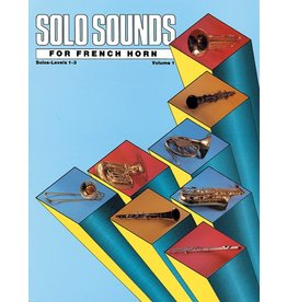 Alfred Solo Sounds for French Horn, Volume I, Levels 1-3
