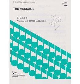 KJOS Brooks - The Message - Tuba