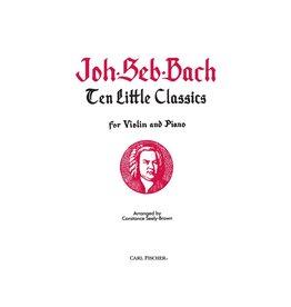 Carl Fischer LLC Bach Ten Little Classics Viola, Piano