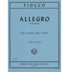 International Fiocco - Allegro in G Major